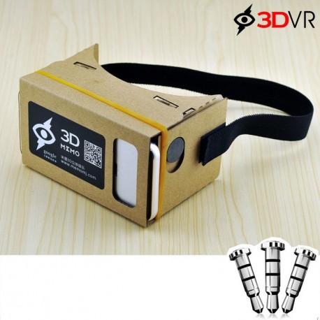 عینک واقعیت مجازی 3dvr بر اساس google Cardboard